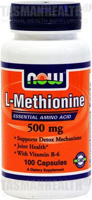 NOW Foods L-Methionine 500mg