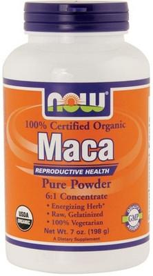 NOW Foods Organic Maca Powder