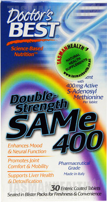 Doctor's Best Double Strength SAM-e 400mg