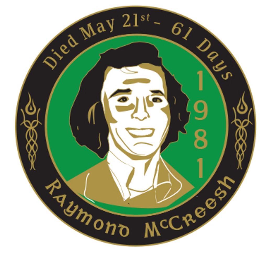 Raymond McCreesh Badge