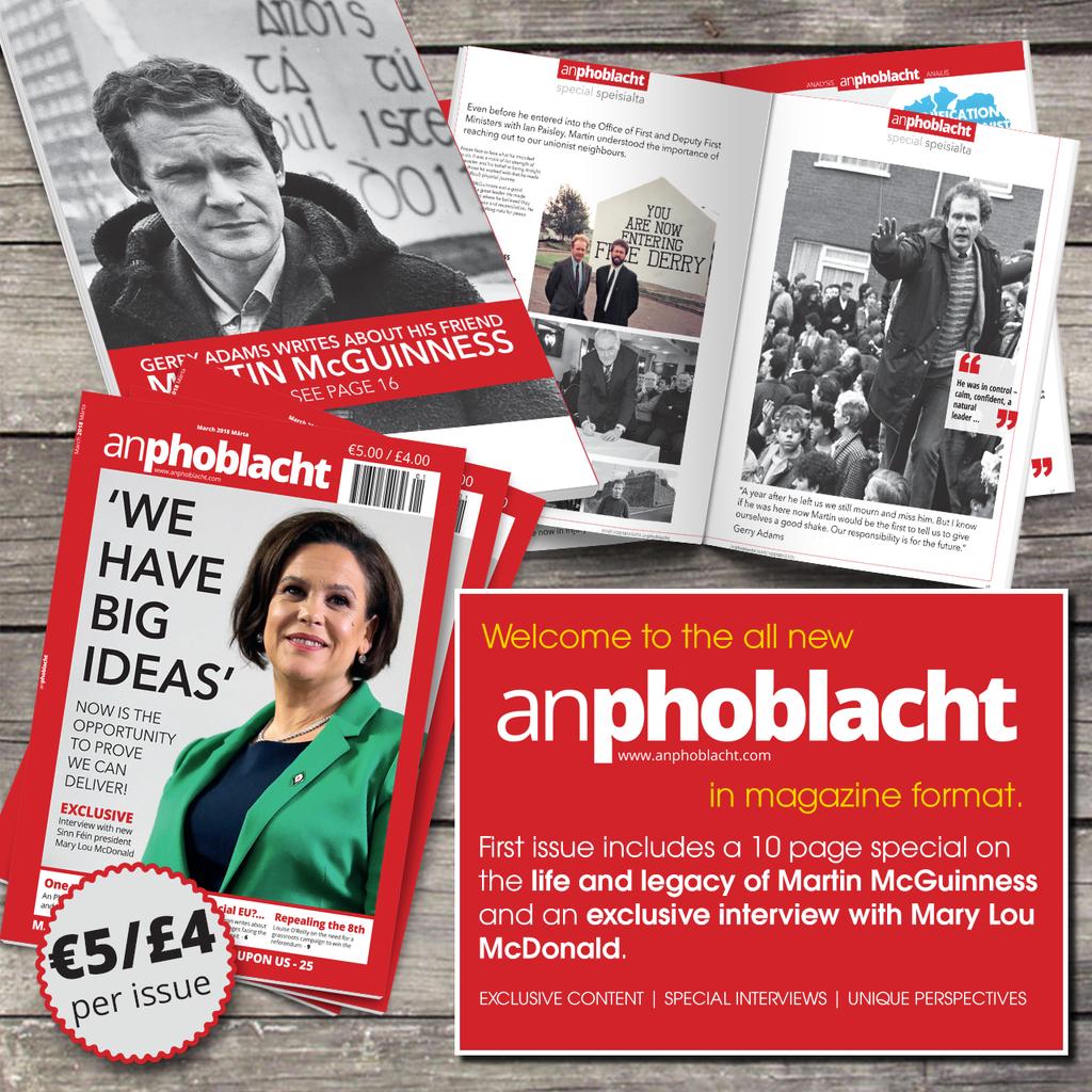 An Phoblacht - New Magazine Format