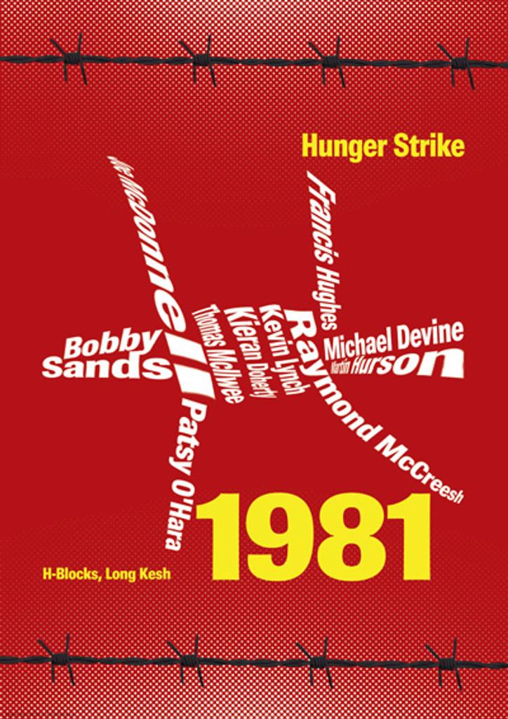 1981 Hunger Strike poster