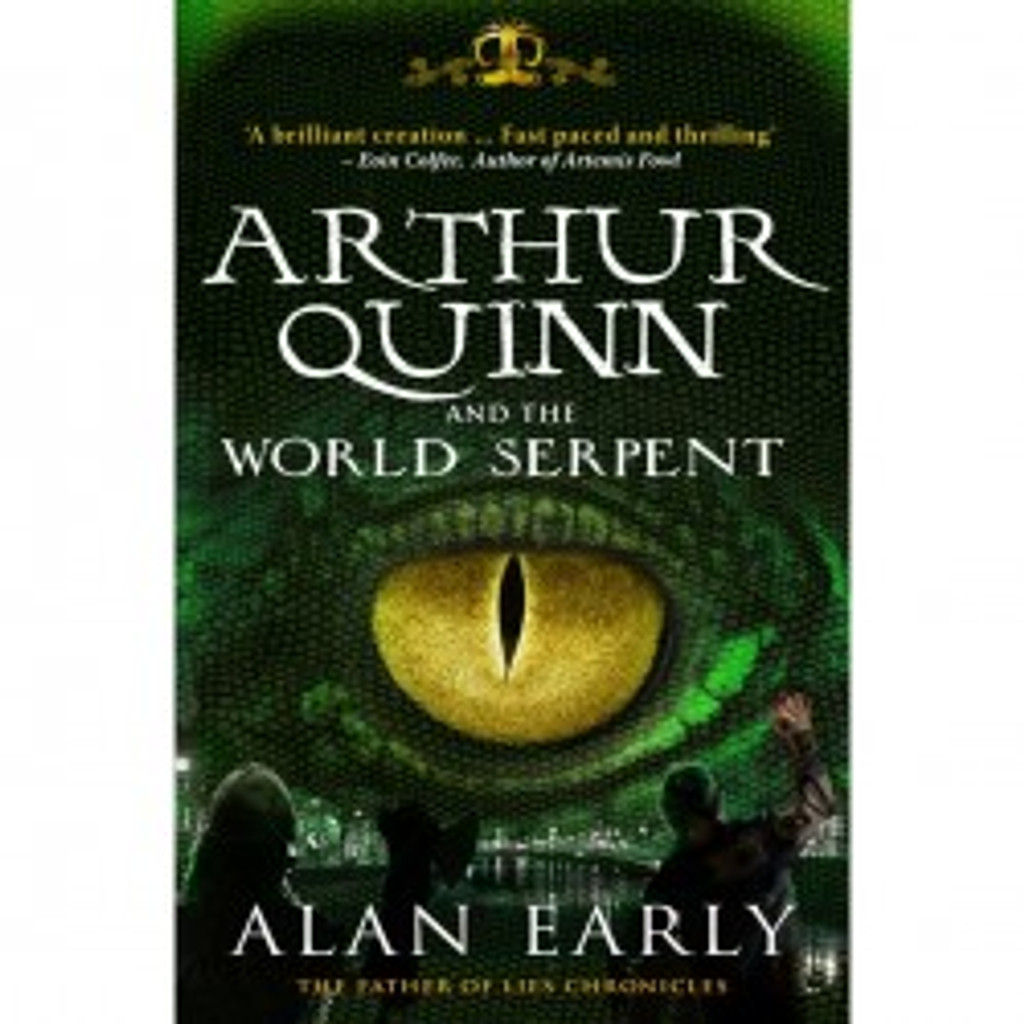 Arthur Quinn and the World Serpent (Kids book)