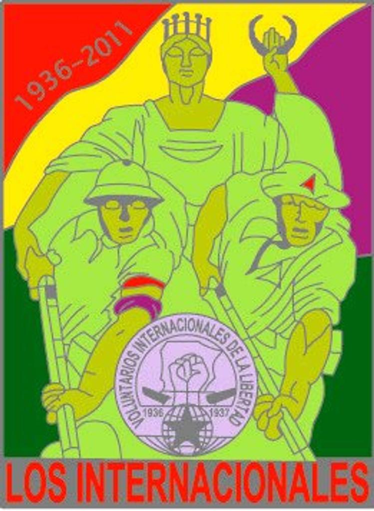 International Brigades badge - Spanish Civil War