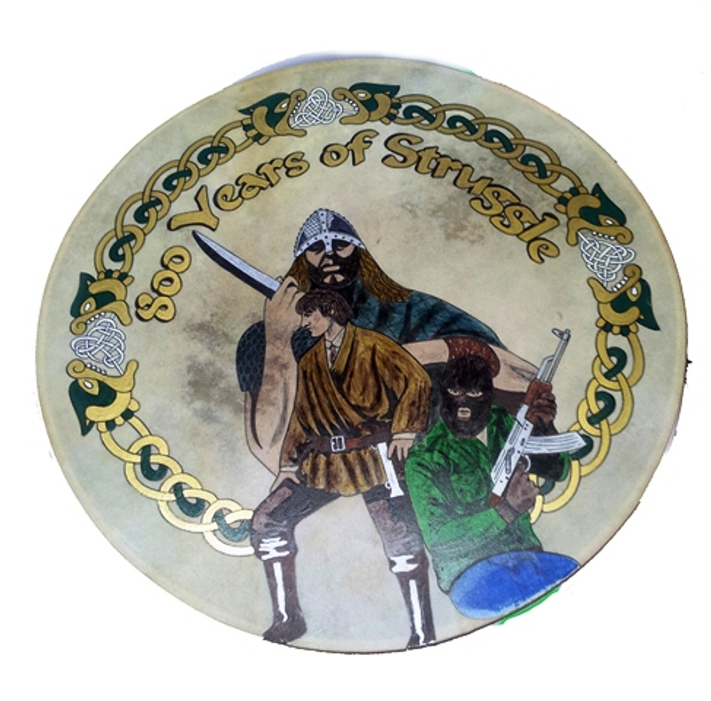 800 Years Of Struggle Bodhrán