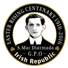 Seán Mac Diarmada 1916 Centenary Badge