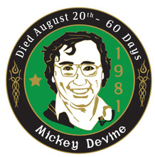 Mickey Devine Badge