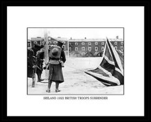 British Troops Surrender  (Framed)