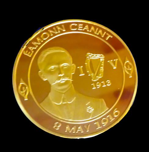 Éamonn Ceannt Gold Plated Coin