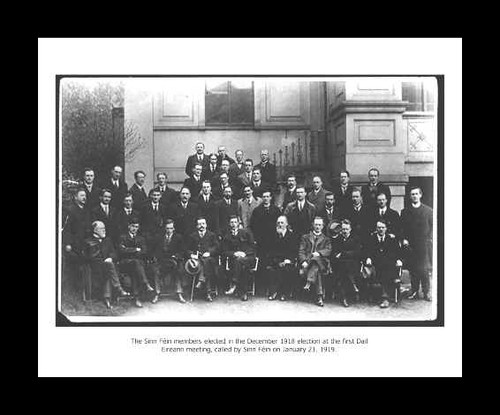 Sinn Féin Members First Dail (Framed)