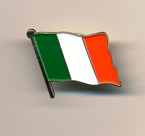 Irish Tri Colour badge