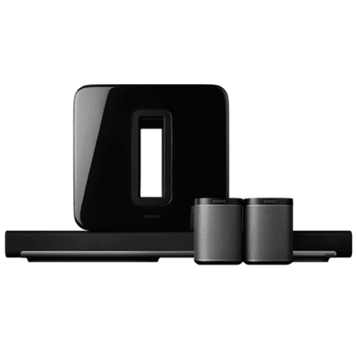 Sonos 5.1 Surround Sound Package with PLAYBAR and PLAY:1