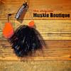 Electric Black with Orange