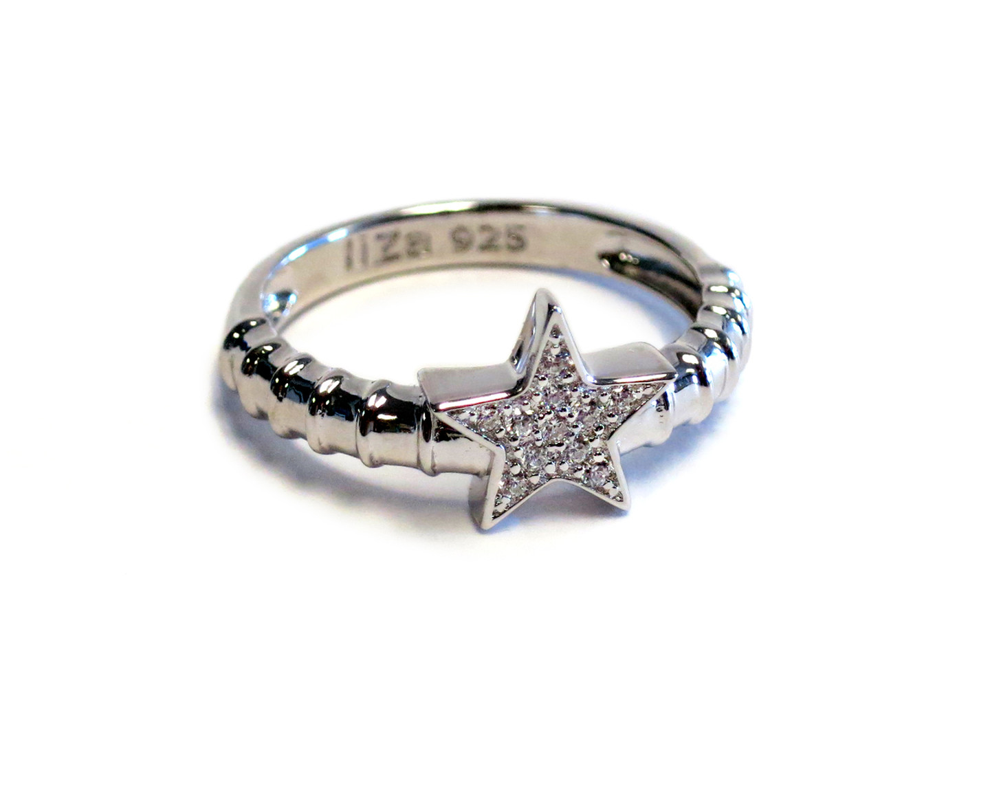 Touch Star Ring Silver