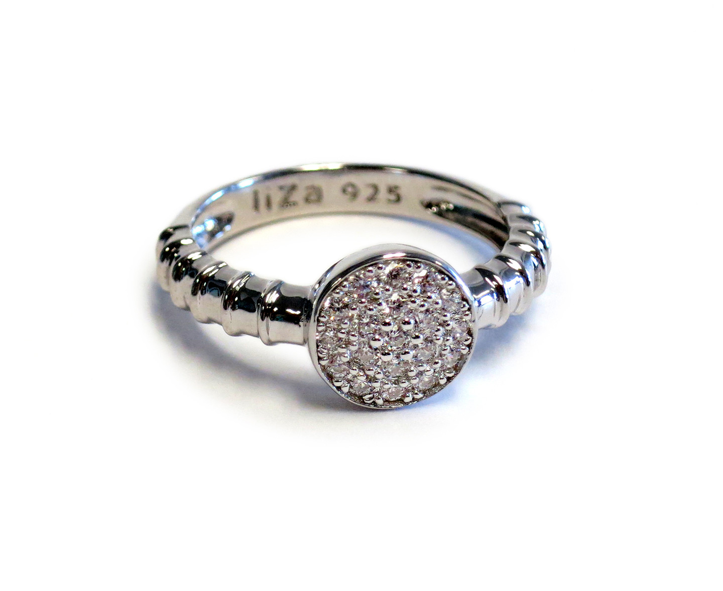 Touch Solar Ring Silver