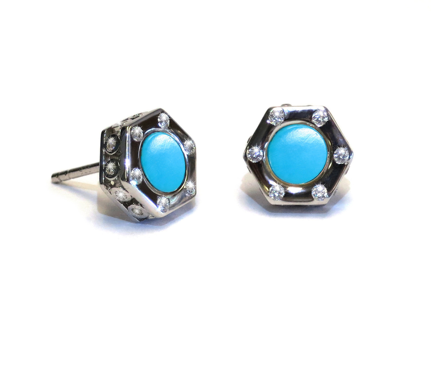 Monte Carlo Turquoise Silver