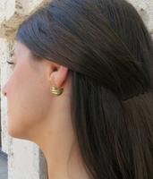 Gold Moonstruck Earrings