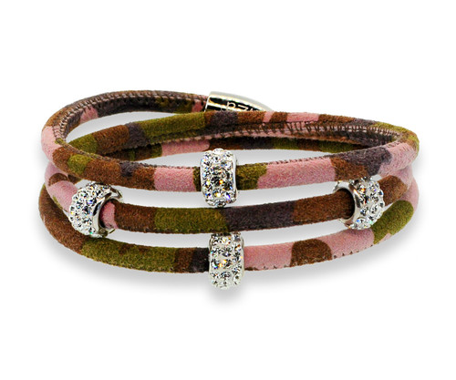 Pink SOBE Camouflage Bedazzle