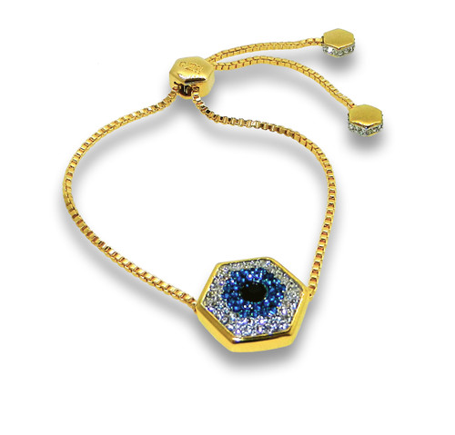 Evil Eye Nut Gold