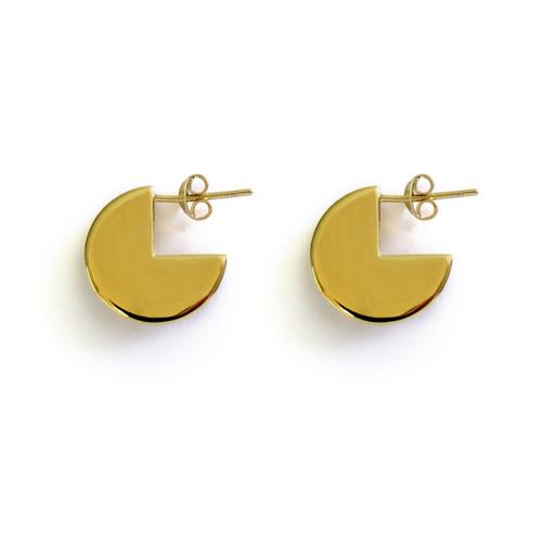 Gold Moonshine Earrings