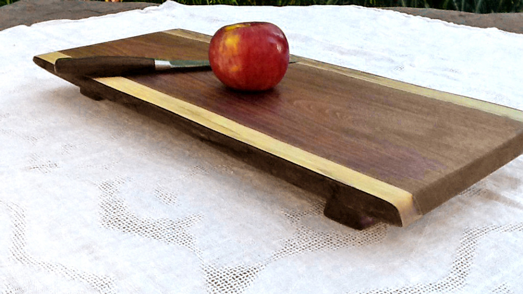 Large Culinary Cleat™ Footed Board (Black Walnut)