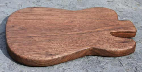 Black Walnut Classic Guitar Shape