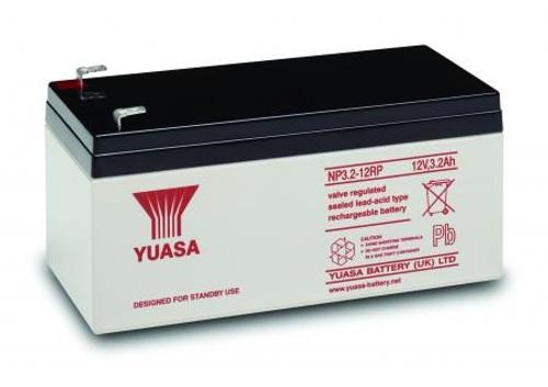 Yuasa NP3.2-12 12Volt 3.2AH Rechargeable Battery