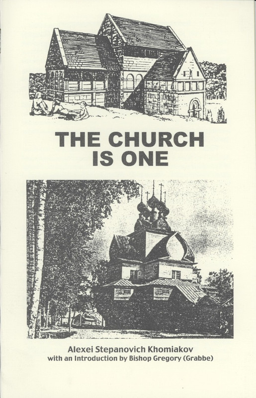 THE CHURCH IS ONE
