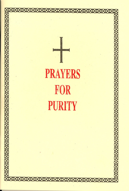 PRAYERS FOR PURITY