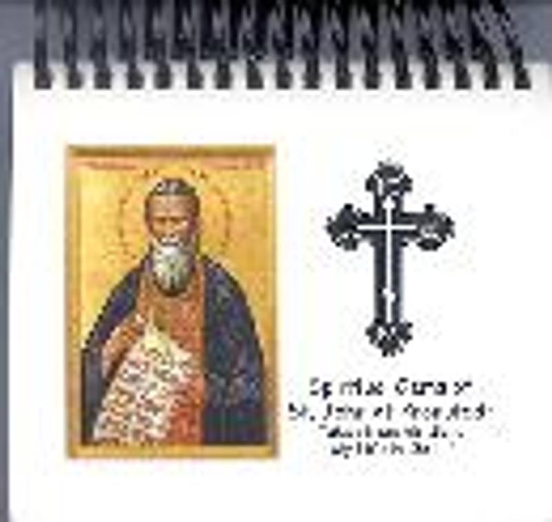 SPIRITUAL GEMS OF ST.JOHN OF KRONSTADT FLIP CALENDAR