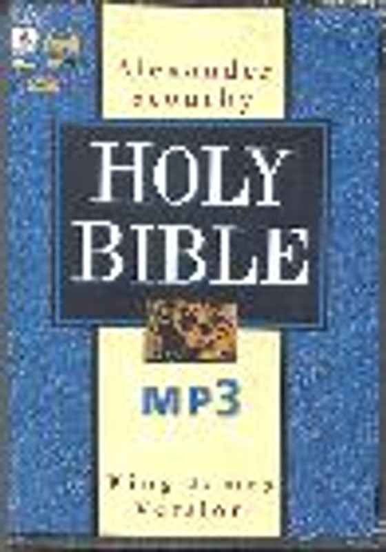 COMPLETE BIBLE ON MP3