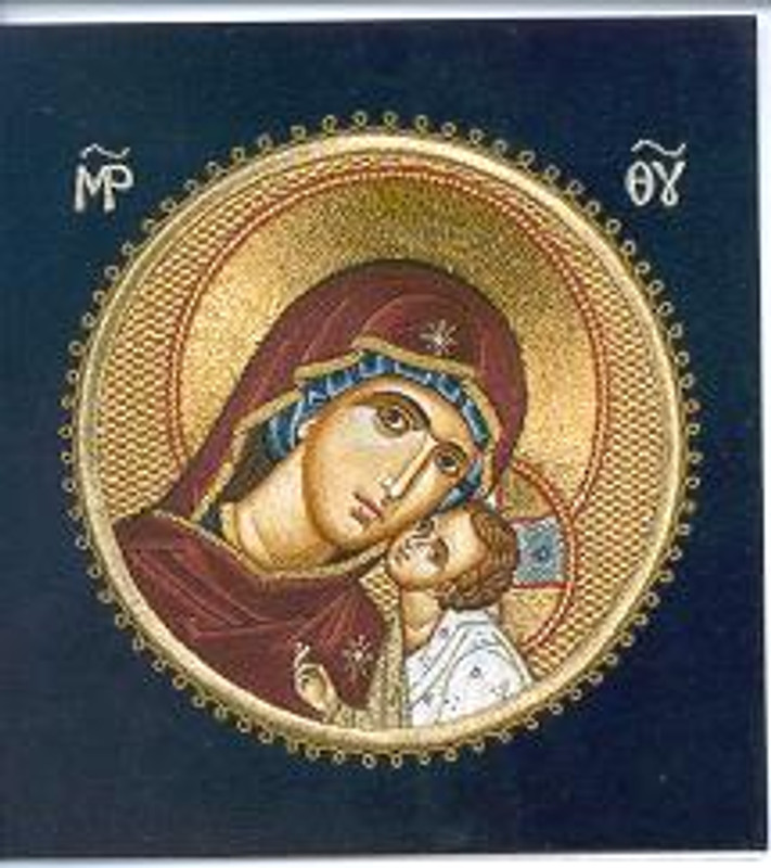 CARDS: THEOTOKOS AND CHILD