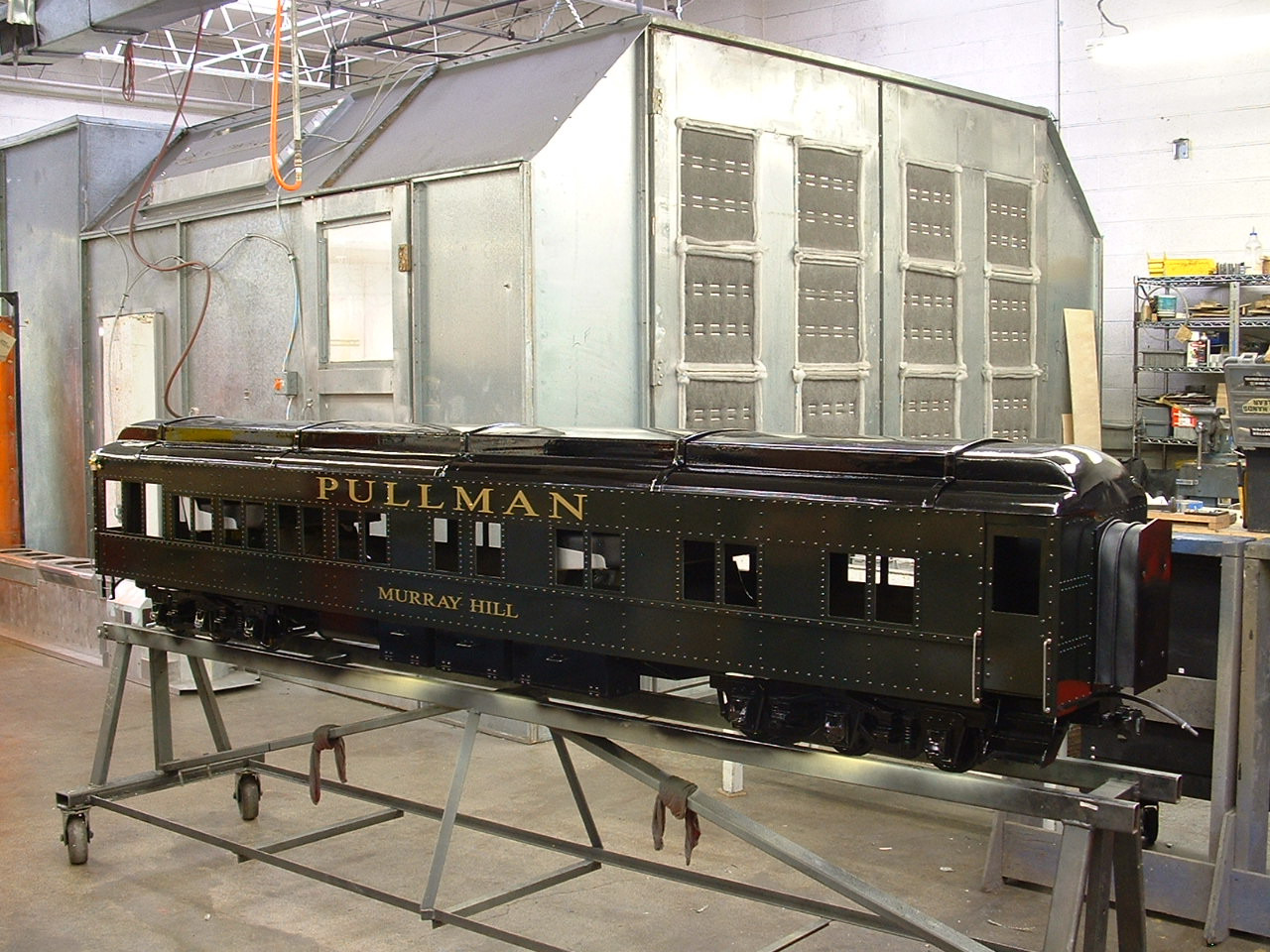 Observation Car Body, HW (Assembled)