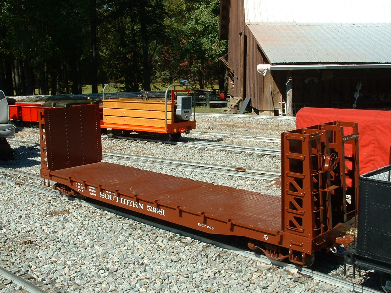 Bulkhead Flat Car (Kit)