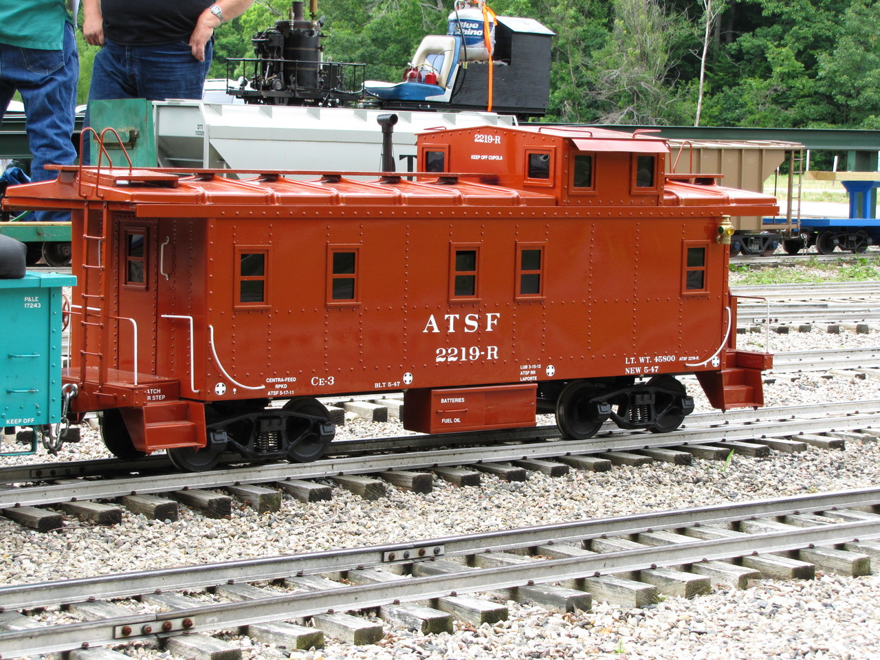 End Cupola Caboose Body (Assembled)