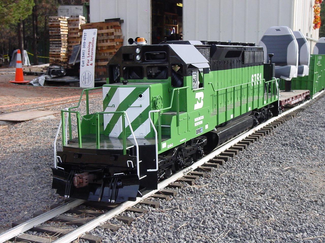SD40-2 - Electric Version