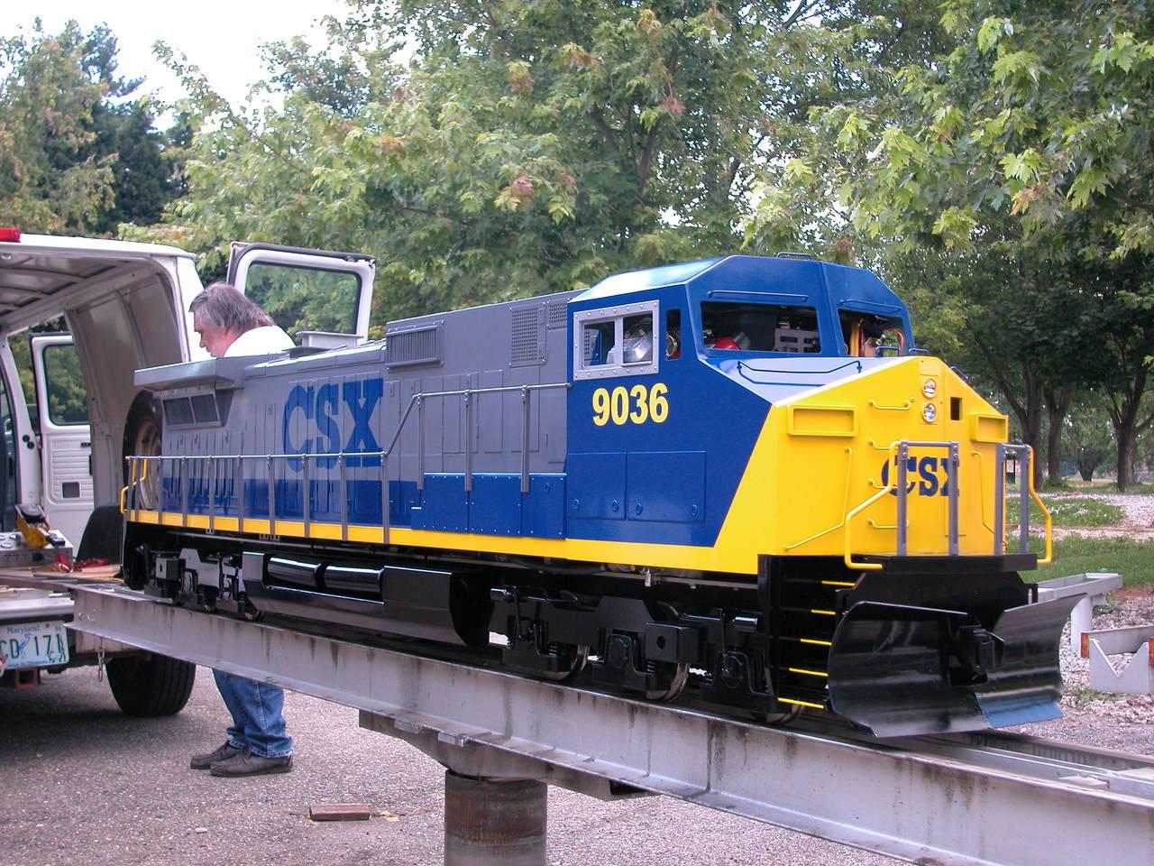 Dash-9 Locomotive
