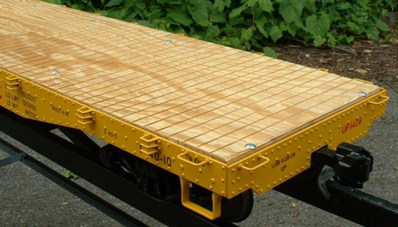Flat Car 6' Body (Assembled)