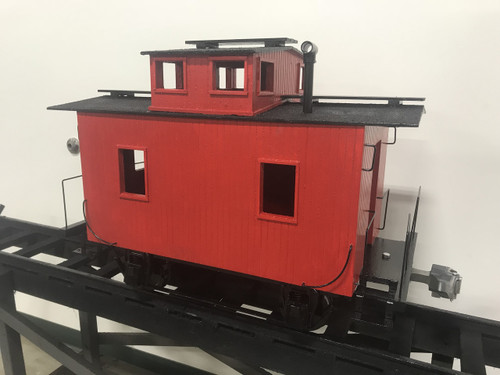 Bobber Caboose Center Cupola Body (Assembled)