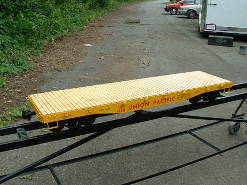 Flat Car 5' Body (Assembled)