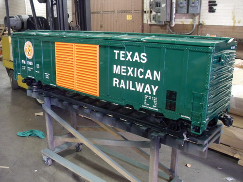 50' Modern Box Car Body, Assembled   ON SALE