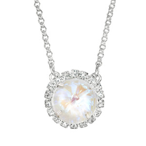 Marshmallow Glam Party Necklace