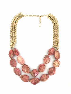 Coral Rocks Necklace