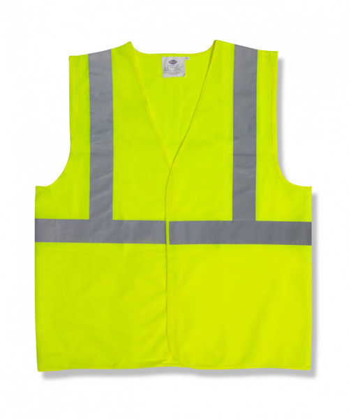 V221: Class II Solid Lime Safety Vest