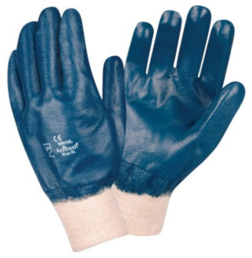 6981: Premium/Smooth/Actifresh Lined/ Nitrile Gloves - 12 Pack