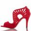 Camila - Open Toe Cutout Heels - Custom Made To Order - B1655