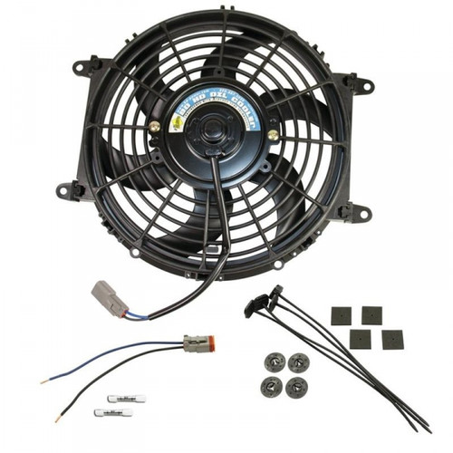 "BD-Power 1030607 Universal Transmission Cooler Electric Fan Universal - 80 Watts, 10"", 800 CFM"