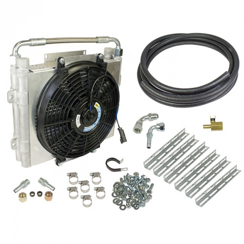 BD-Power Xtruded Double-Stacked Auxiliary Trans Cooler Kit 1030606-DS 1994-2016 Dodge & 2001-2016 GM Transmissions (See Application Chart)