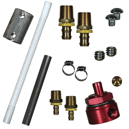 Diesel Fuel 5/8 In Fuel Module Suction Tube Kit Includes Bulkhead Fitting