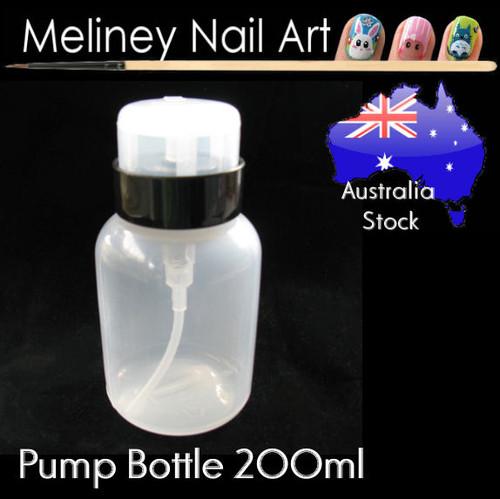 200ml pump bottle